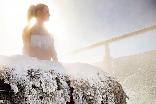 60$ (repas santé inclus) - Quartier DIX30 - Comprend l'accès aux saunas finlandais, au bain vapeur, aux bains chauds californiens, au bassin froid ainsi qu'aux aires de détente. Profitez aussi de la location d'un peignoir et de deux serviettes, d'une bouteille d'eau signée SKYSPA, d'un repas santé et d'un casier.