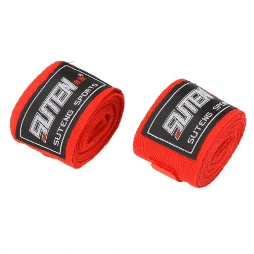 5.63$  Watch now - http://ain3f.worlditems.win/all/product.php?id=Y0012R - 2pcs/roll Width 5cm Length 2.5M 100% Cotton Sports Strap Boxing Sanda Muay Thai MMA Taekwondo Bandage Hand Wraps