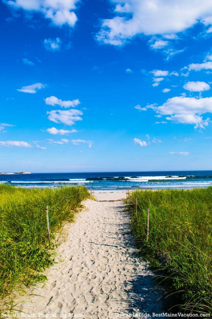 Top 5 Best Maine Vacation Beaches - | Best Maine Vacation
