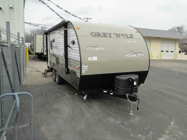 2015 New Forest River Grey Wolf 19RR Toy Hauler Travel Trailer in Ohio OH.Recreational Vehicle, rv, Wholesale pricing on all travel trailers, fifth wheels, expandable and toy haulers.