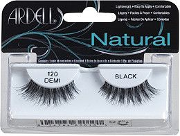 Ardell's Natural lashes are perfect for enhancing your eyes for an everyday look. These are the most popular lashes as they give the desired, natural look of full, beautiful lashes.