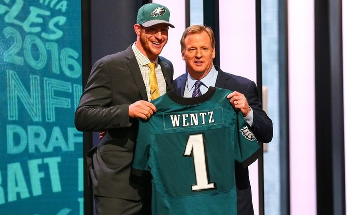 All eyes on Carson Wentz as Eagles face Buccaneers Thursday = The Philadelphia Eagles open their preseason schedule with a game tonight against the Tampa Bay Buccaneers. The guess here is that most Eagles fans – or NFL fans in general – won't be tuning in until the.....
