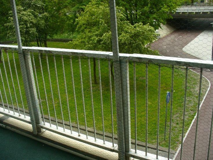 Balkon katzensicher gestalten, wenn Bohren nicht erlaubt ist