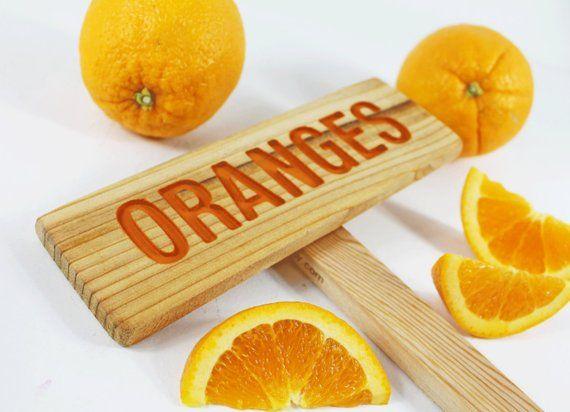 Orangen-Zeichen, Baum-Zeichen, Zitrus-Zeichen, Obst-Marker, Outdoor-Zeichen, Yard Art, Orange, Zitrus-Baum-Zeichen, Obst-Marker, Sweet Orange, Tropical   – #CITRUS