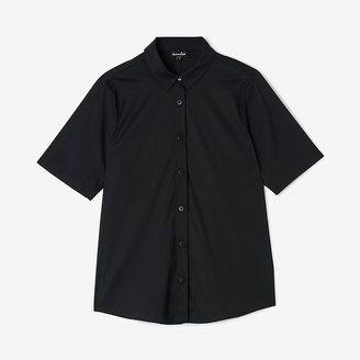 STEVEN ALAN carson shirt - Shop for women's Shirt - BLACK Shirt