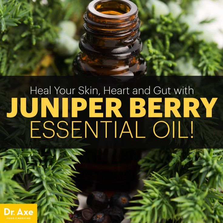 Juniper Berry Essential Oil Relieves Bloating, Skin Problems & Heartburn - Dr. Axe