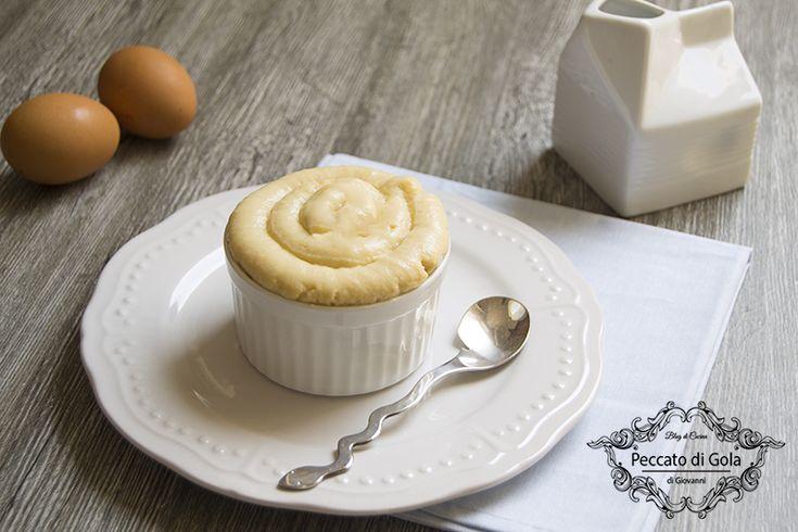 Crema+pasticcera+senza+zucchero+e+senza+glutine