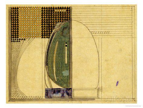 1916 for W.J Bassett-Lowke Esq Giclee Print by Charles Rennie Mackintosh at AllPosters.com