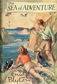 The Sea of Adventure, Enid Blyton - my favourite series when I was younger <3
