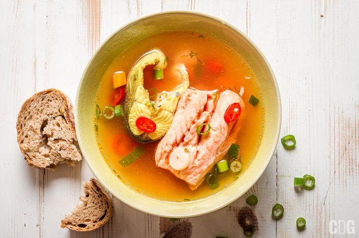 Myśliwska zupa rybna   Hunter's Fish Soup