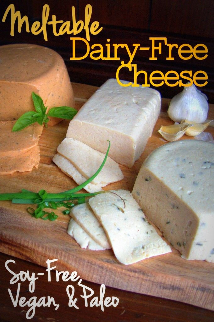 So. Dairy-free cheese. Dairy-free, vegan, soy-free, casein-free cheese… I can tell you how to make some. It actually melts. And it tastes amazing. It's totally a thing, I promise. And I…