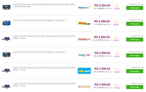 Investigador de preço encontra mesma TV com diferença de R$ 7.000 #timbeta #sdv #betaajudabeta