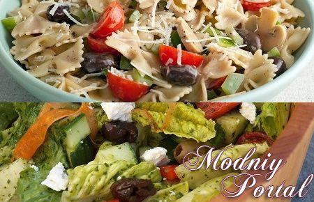 Рецепты салатов с итальянской пастой