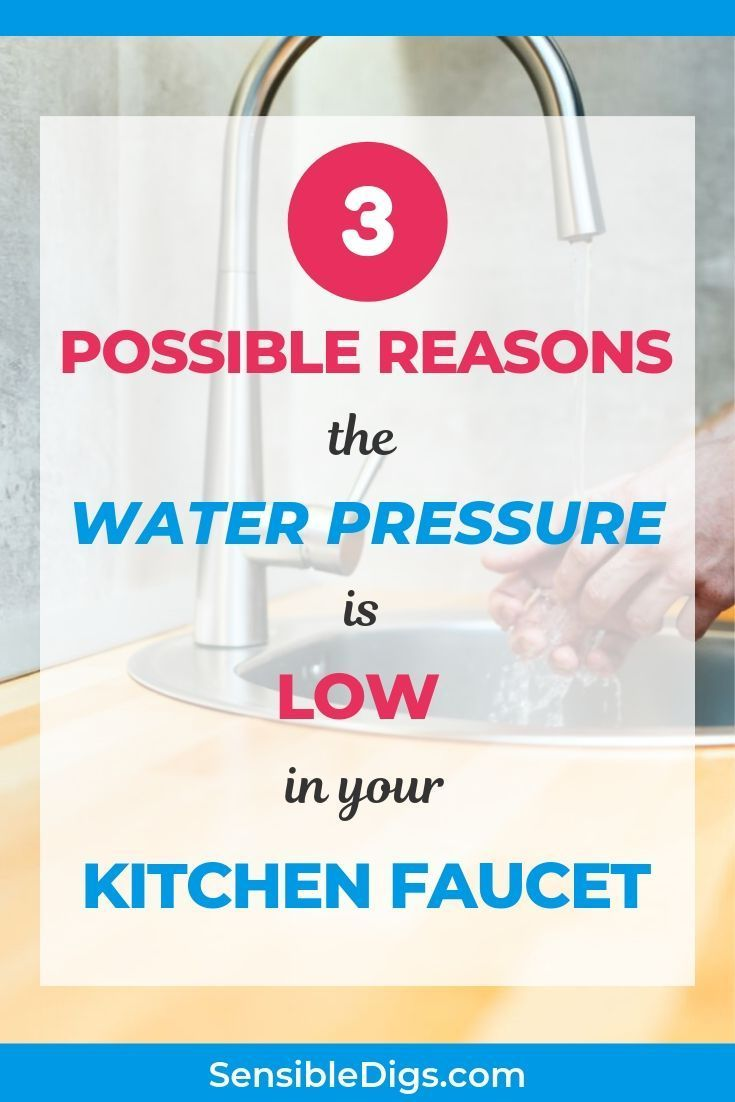 A Faucet Can Suddenly Lose Pressure For Many Different Reasons If