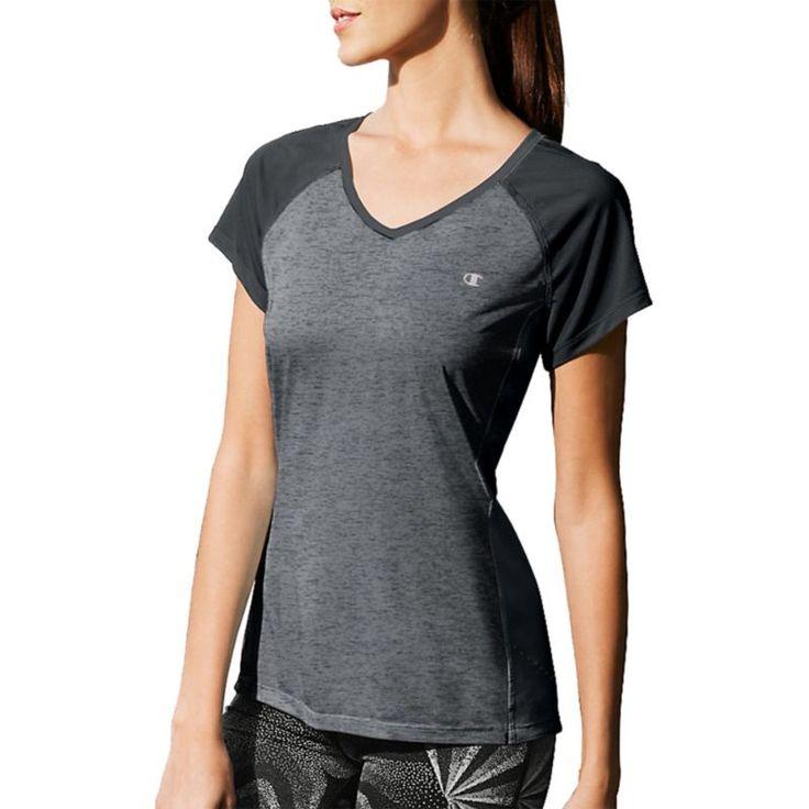 Champion Women's Marathon T-Shirt, Size: Medium, Gray