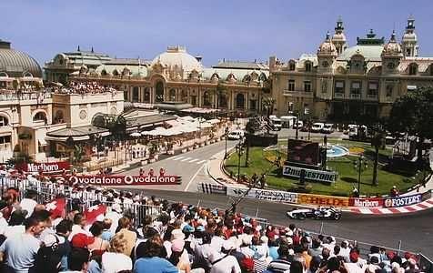 Formula One race in Monte Carlo, Monaco. Incredible ...