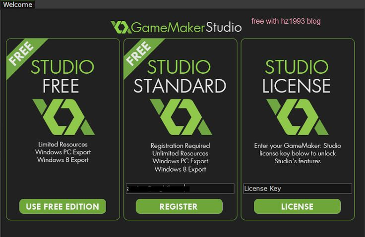Get GameMaker Studio to create your own game for free