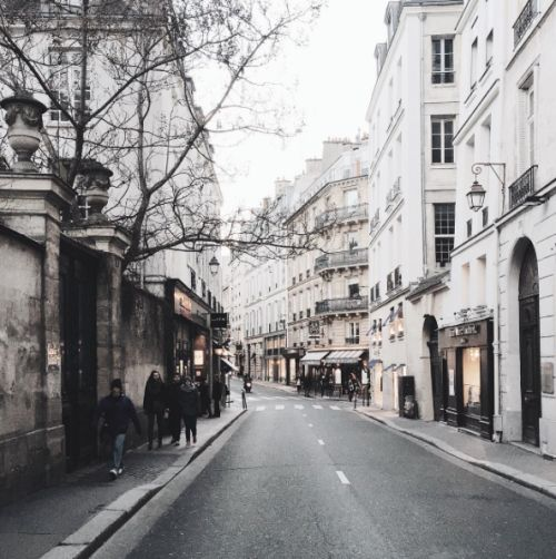 Beautiful, nostalgic grey streets.