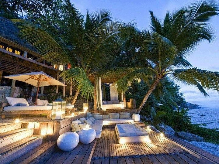 Deck on Bali's house
