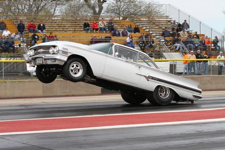 60 Chevrolet Impala Drag Racing Pinterest Chevy
