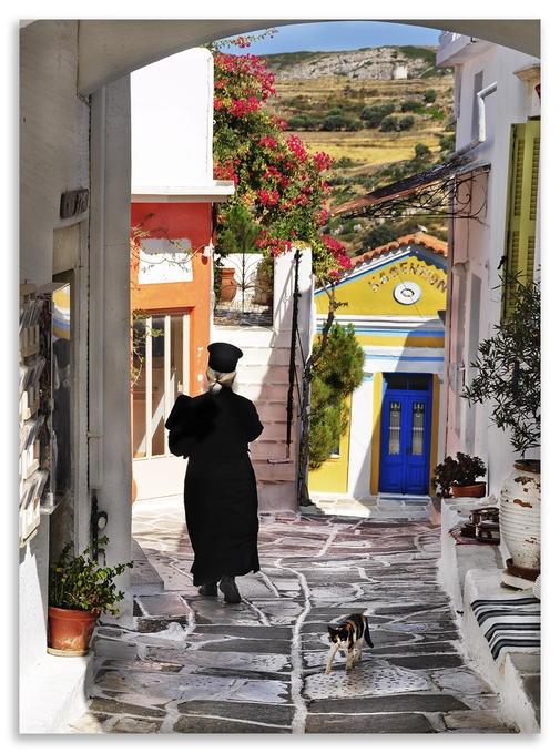 Village Lefkes Paros Island