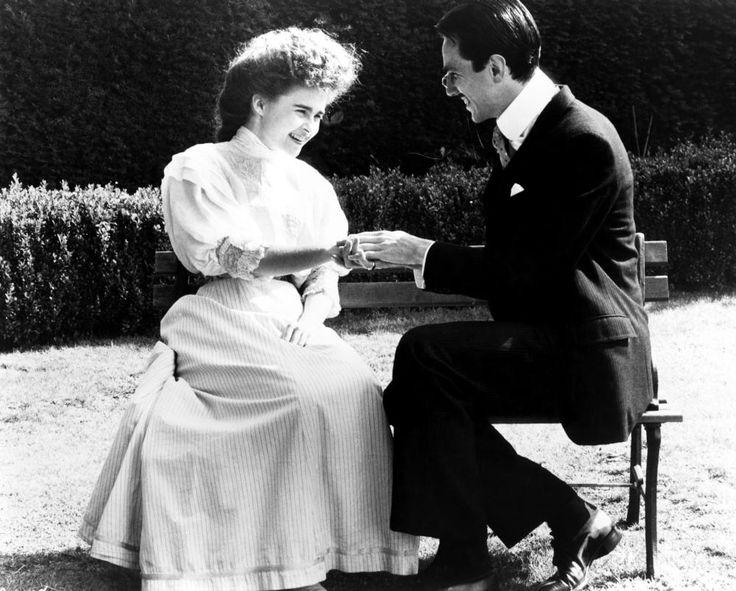 A ROOM WITH A VIEW, Helena Bonham Carter, Daniel Day Lewis, 1985 | Essential Film Stars, Daniel Day-Lewis http://gay-themed-films.com/film-stars-daniel-day-lewis/