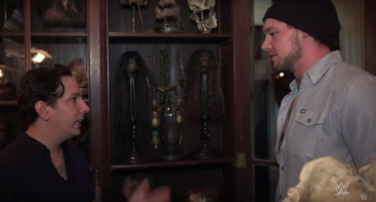 Baron Corbin gets deep when he's face to face with death