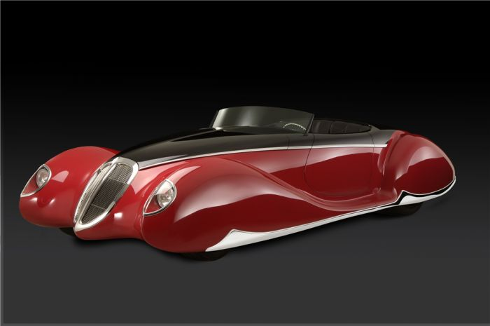 Boyd Coddington's final creation: The Delahaye-inspired French Connection roadster