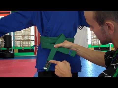 How to Tie a Student's Taekwondo Belt:  A Guide for Parents and Instructors