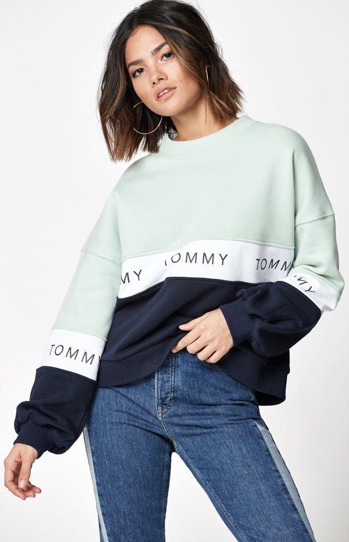 Tommy Hilfiger Essential Hoodie Sweatdress Sudadera Vestido para Ni/ñas
