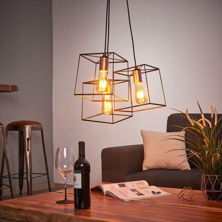 ¡Encuentra la lámpara colgante Agatha de estilo Industrial en Lampara.es! Ref.: 9514234.