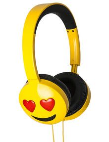 Jamoji Love Struck Kids Headphones, HX-HPEM03 product photo