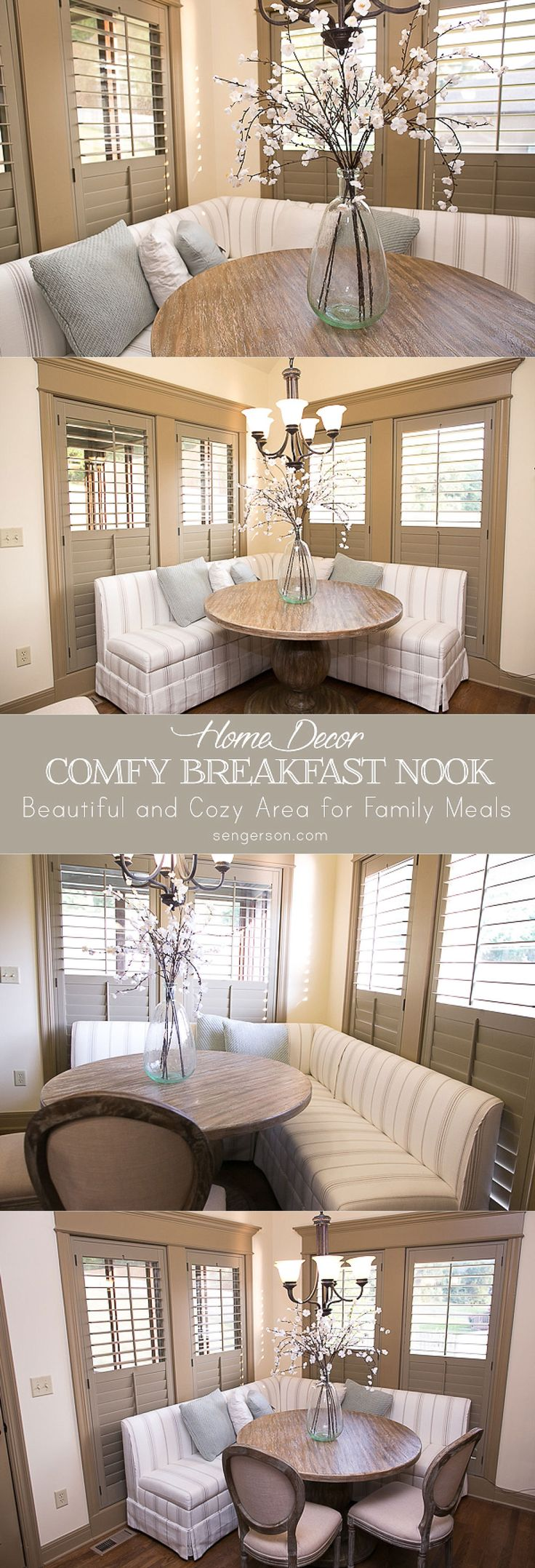 best 25 breakfast nook decor ideas on pinterest. Black Bedroom Furniture Sets. Home Design Ideas