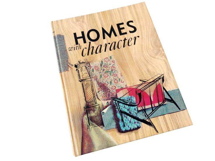Homes with Character by Hazel Thompson Craig 1962 Home Economics Textbook 1960's Interior Design Textbook Home Decorating by CollectionSelection on Etsy, SOLD