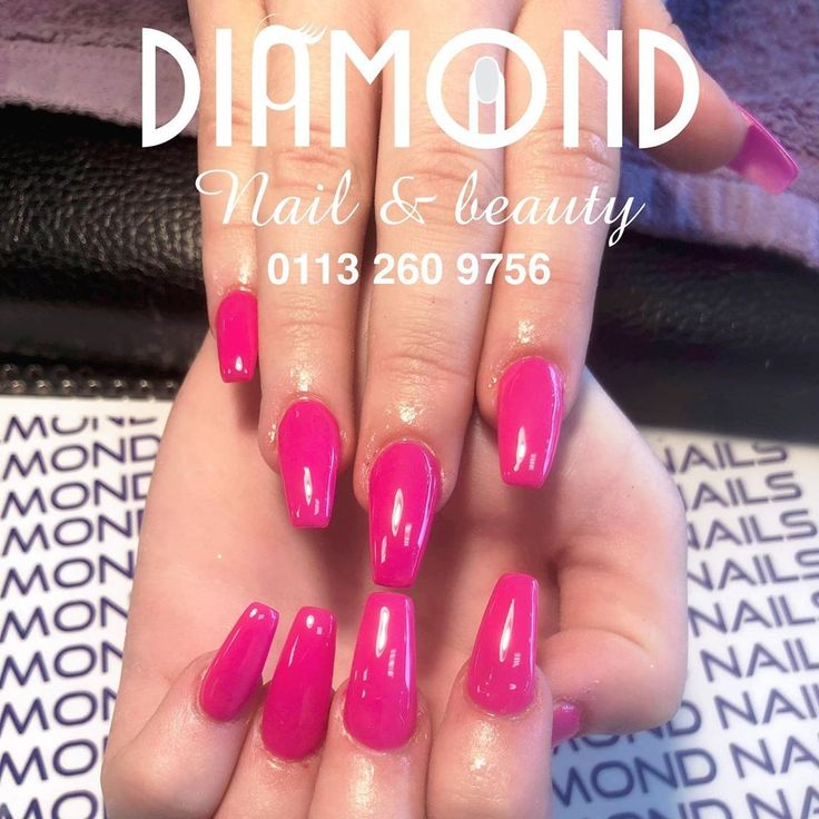 Pinky Girl Walk In Make Appointment 01132609756 Or Fb Messenger Free Parking Nice Welcome With The Tea Or Acrylicna In 2020 Diamond Nails Pinky Girls Acrylic Nails