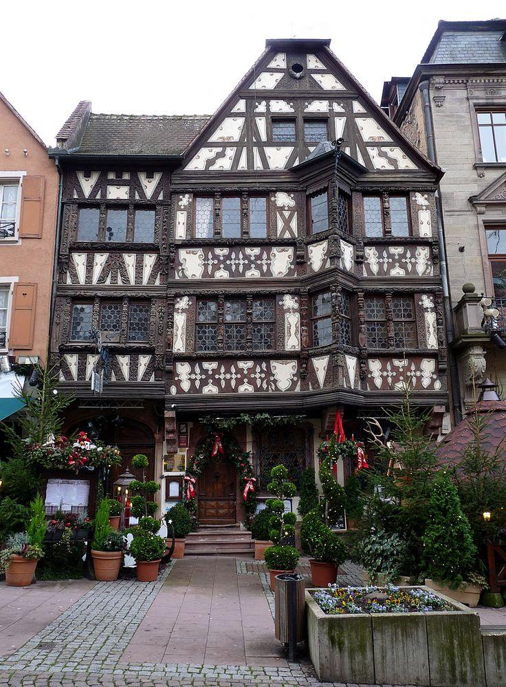 Maison Katz - Saverne, Bas-Rhin (France) - Crédit Photo : Ji-Elle - Licence CC BY-SA 3.0
