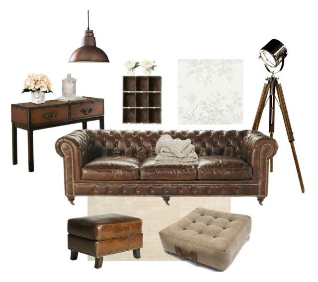 """Untitled #1"" by enocska on Polyvore featuring interior, interiors, interior design, home, home decor, interior decorating, One World, Steve Silver, Dot & Bo and Creative Displays"