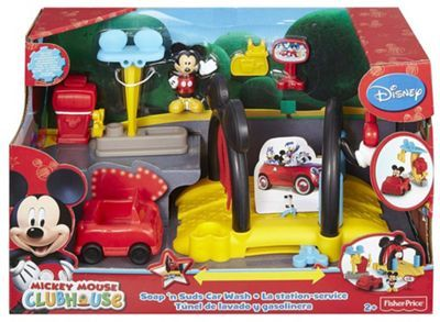 £12.50 Mickey Mouse Clubhouse Soap n Suds Car Wash | Debenhams