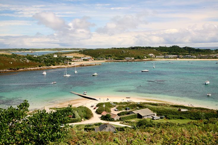 Tresco from Bryher - Scilly Isles