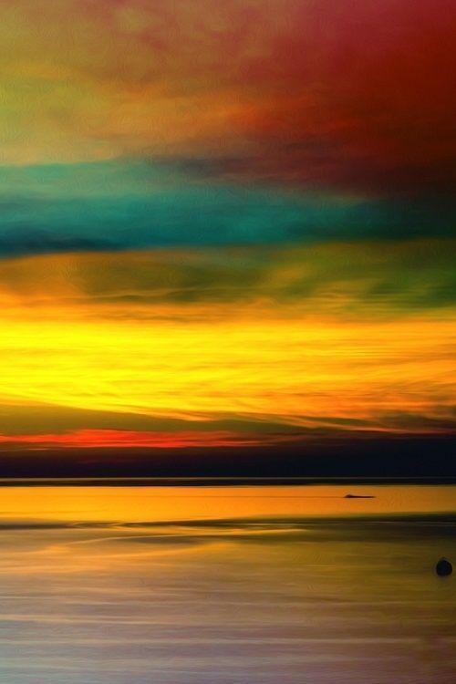 Lake Michigan. Beautiful. We really are lucky