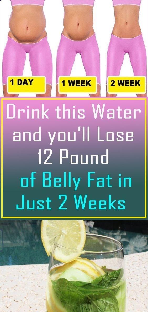Trinken Sie dieses Wasser und verlieren Sie 12 Pfund Bauchfett in nur 2 Wochen – IHRE GESUNDHEIT