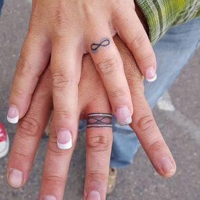 Pin De Natalia En Tatoo Boda Tatuada Tatuaje De Anillos Y