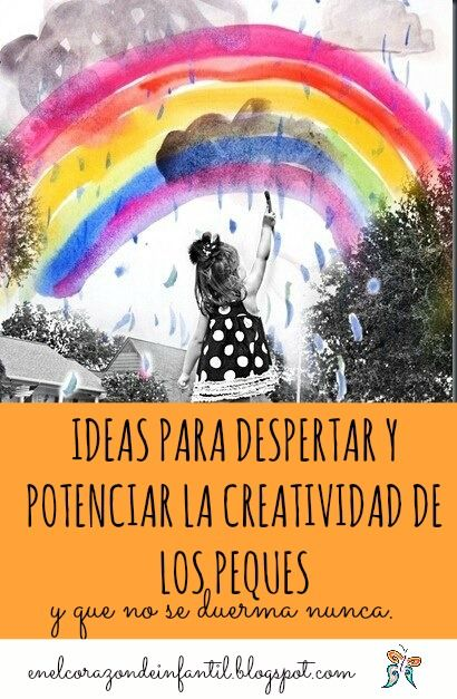 Érase una vez, en el corazón de infantil...: Entrenar la creatividad