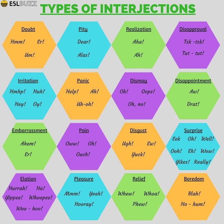Interjections are used to express a strong or sudden action and feeling. Learn how to use interjections in a sentence and types of interjections.