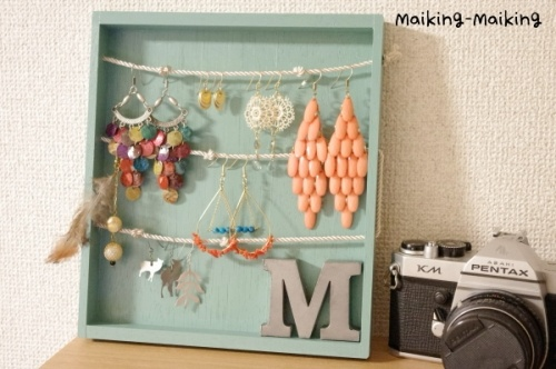 DIY jewelry box   this is such a great idea!! must make<3