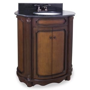 30.5 inches wide, 20 in deep | Bathroom vanity, Single ...