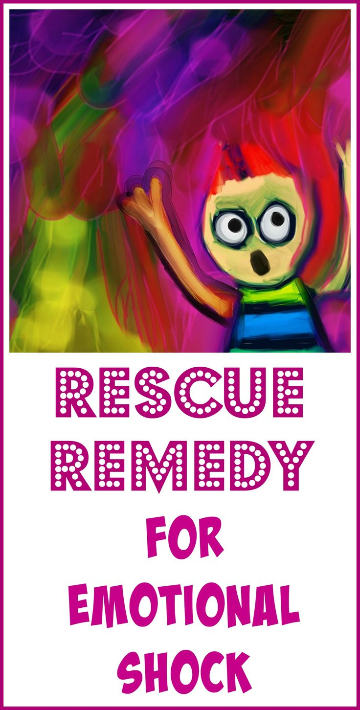 Rescue Remedy is a homeopathic formula designed for emotional shock. It's made from five flower essences created by the late Dr. Edward Bach, MD., who believed that mental distress can lead to physical illness.