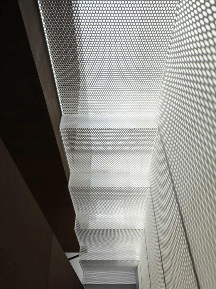 IS / Yo Yamagata Architects - perforated metal mesh
