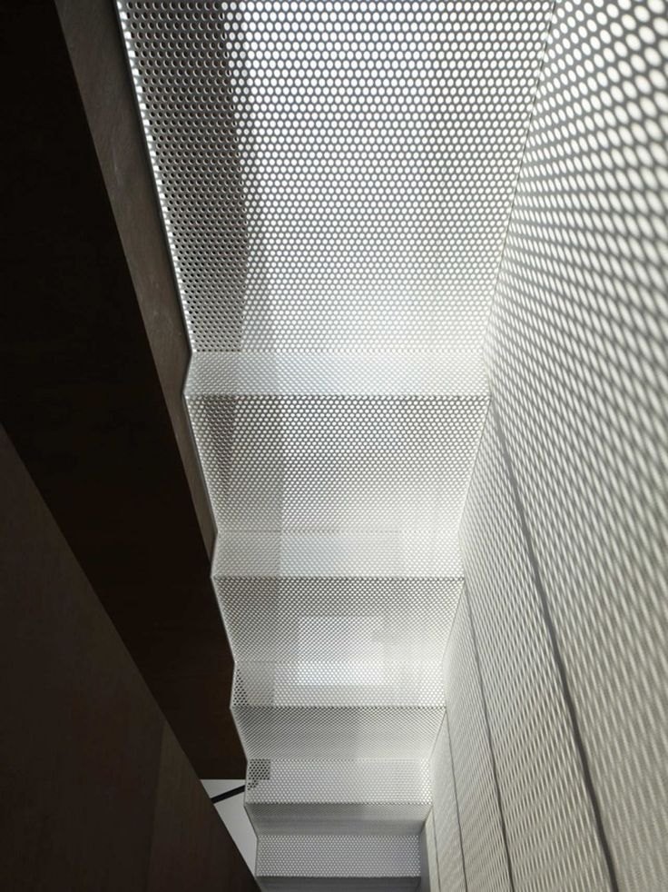IS / Yo Yamagata Architects - perforated metal mesh