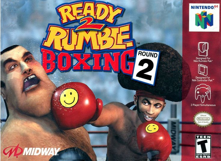 Ready 2 Rumble Boxing: Round 2 Nintendo 64 Game